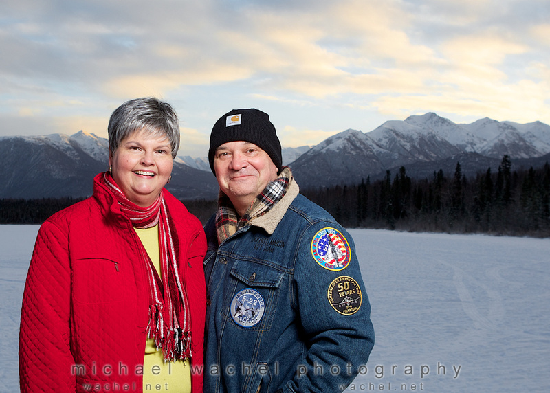 Christmas photo from Anchorage Alaska Photographer, Michael Wachel.