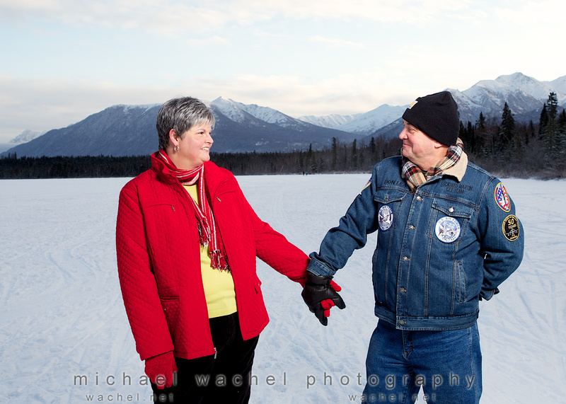 Holiday photographs with Michael Wachel, Palmer AK photographer.